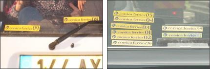 Sticker Corsica Ferries 2019